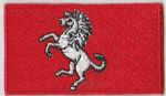 Kent Embroidered Flag Patch, style 04